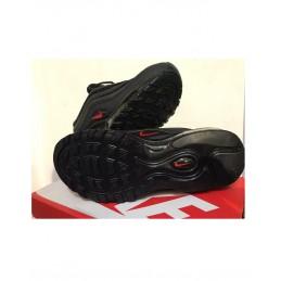 air max 97 nere con baffo rosso